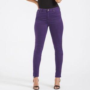 Long Tall Sally Denim Skinny Jeans 35 Long Sz 12